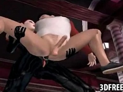 3d  babe  fuck  gay  leather  woman