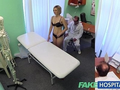 blonde  doctor  horny  naked  wet  woman