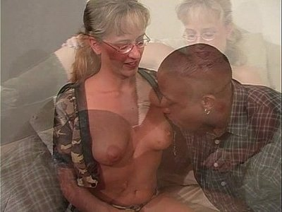 black cock  blonde  old and young  thick