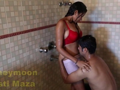 aunty  big boobs  home video  indian  old man  shower