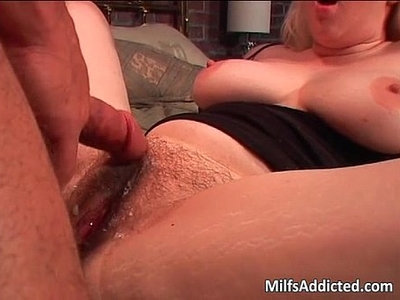 bitch  blonde  dick  hairy  natural tits  riding