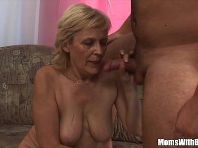 blonde  fuck  mom  mommy  shaved  stockings